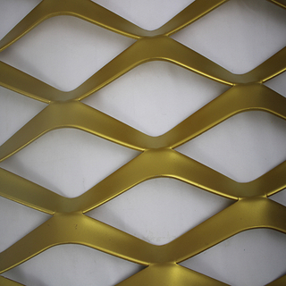 Powder Coated Expanded Metal Cladding