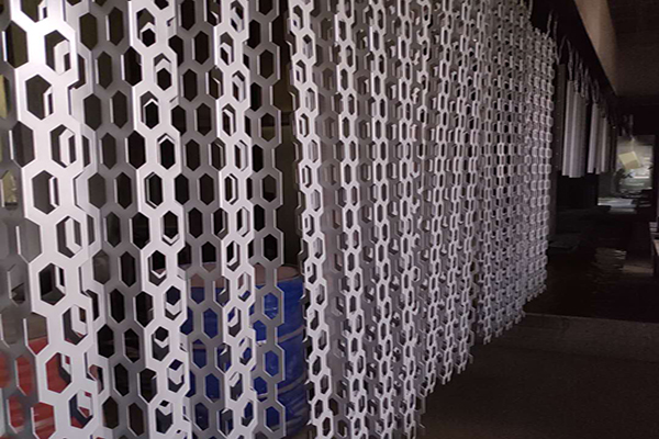 Bended Aluminum Perforated Curtain Wall Cladding Panel