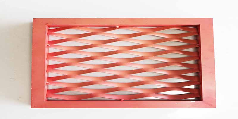Aluminum Expanded Metal Screen for Architectural Decoration