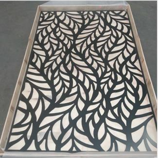 Packing laser cut panel
