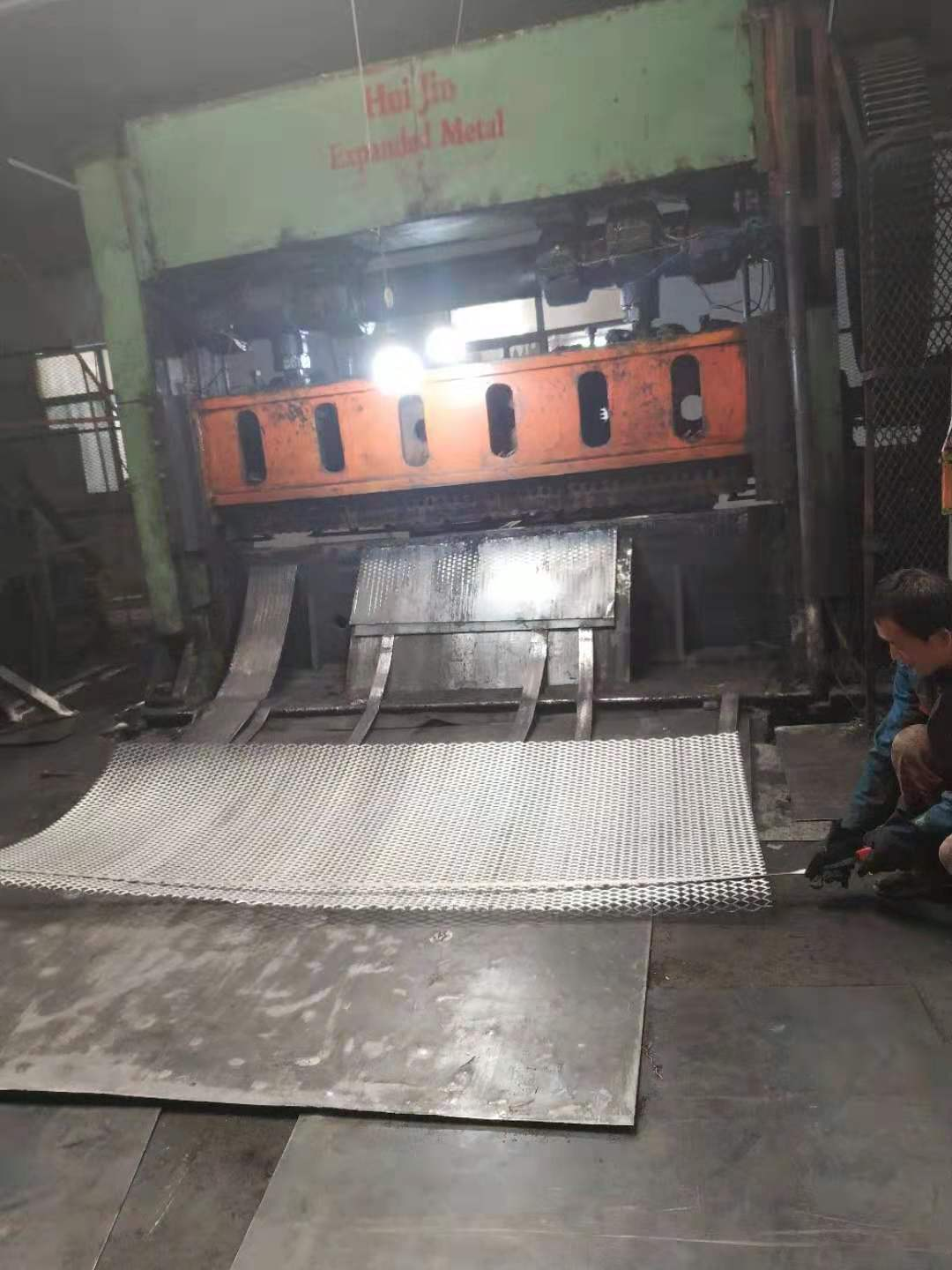 carbon steel expanded metal machine