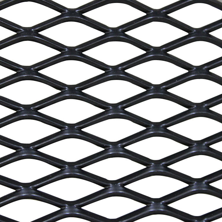 Diamond type of expanded metal mesh