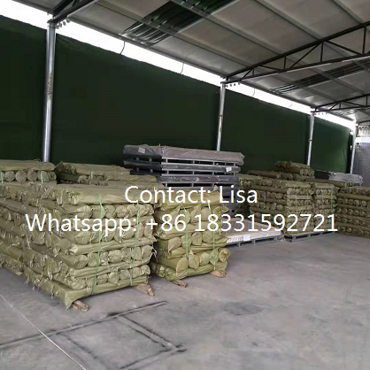 Steel expanded mesh-packing-warehouse