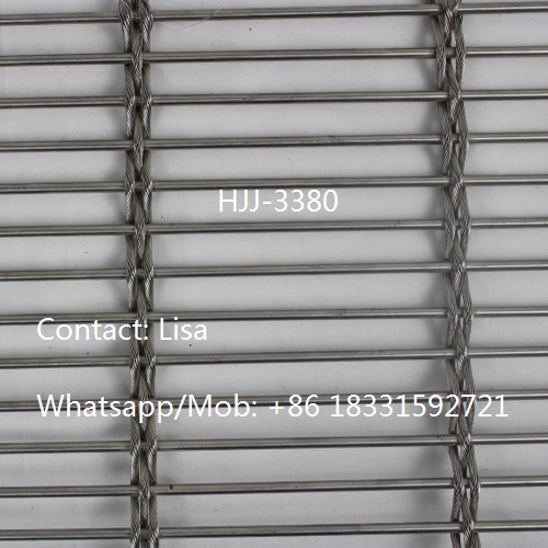 Stainless steel decorative cable wire mesh-HJJ-3380