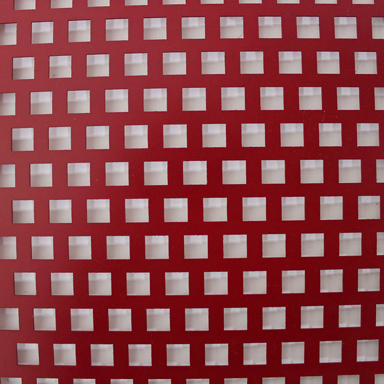 Square Staggered Perforated Metal